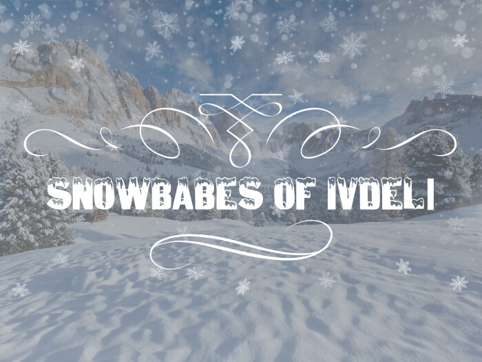 SNOWBABES OF IVDELl